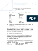 Programa Bases Biológica E Física