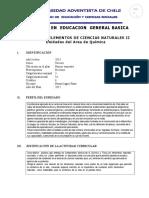 Programa de Elementos Basicos de Las Ciencias Naturales II 2014
