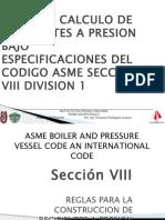 Diseño y Cálculos de Recipientes a Presión