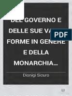 [S.F.] DEL GOVERNO E DELLE SUE VARIE FORME IN GENERE E DELLA MONARCHIA COSTITUZIONALE IN ISPECIE.pdf