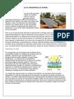 Energía Solar Para El Desarrollo Rural