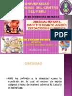 Obesidad Infantil, Diabetes Mellitus  y Cetoacidosis Diabética