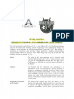 Letter Agreement for MPEV
