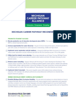 Michigan Career Pathways Recommendations