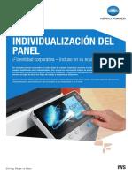 KM IndividualizacionPanel SL ES