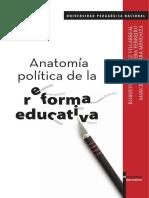 Anatomia Politica Reforma Educativa