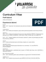 Rodrigo Villarreal - CV