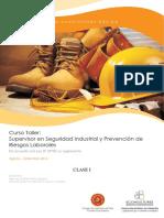 Clase 1 - Curso Supervisor en Seguridad Industrial