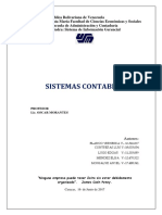 Informe Sistema Cntables