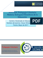 Oscar Melo 3.3 Pedagogia Libertaria