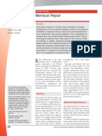 meniscal repair. jaoos.pdf