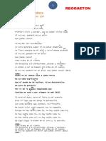 Letras Reggaeton