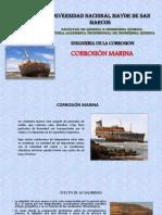 Corrosion marina
