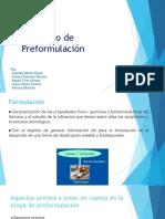 Protocolo de Preformulación