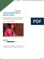 26-06-17 Senadores Realizan Gira de Trabajo Por EEUU; Tratarán Relación Bilateral - Noticias MVS
