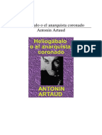 Artaud Heliogabalo