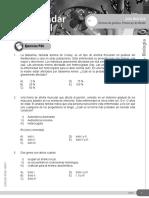 BL-14 Términos de Genética Primera Ley de Mendel