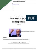 Jeremy Corbyn El Antipopulista a12714