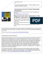 SÁNCHEZ, Fernanda.;BROUDEHOUX, Anne-Marie_Mega-events and Urban Regeneration in Rio de Janeiro_ Planning In