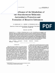 The Significance of the Metabolism of the Neurohormone Melatonin
