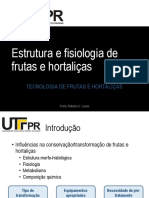 Aula 01 - Estrutura e Fisiologia de Frutas e Hortalicas