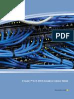 ACS 60000 Console User Guide 590767501F