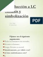 PD Introducción a LC Sintaxis y Simbolización