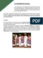 Las 8 Regiones de Oaxaca