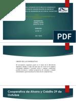ANÁLISIS DE LA aplicación DE LOS PRINCIPIOS DE LAS COOPERATIVAS