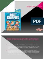 Kellog's Rice Krispies Cereal Brand Presentation