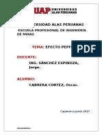 Efecto Pepita