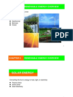 Chapter III Renewable Energy Overview