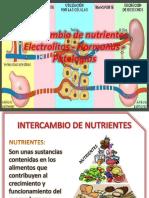 Intercambio de Nutrientes Electrolitos - Hormonas - Patologías (1)