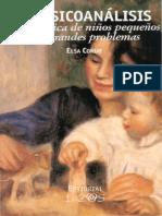 El psicoanálisis en la clínica de niños pequeños con grandes problemas [Elsa Coriat].pdf