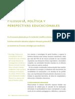 Filosofia Politica y Pesperctivas Educacionales Alcira Argumedo