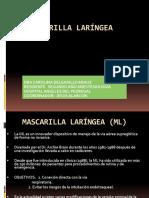 Mascarilla Laringea Ppt