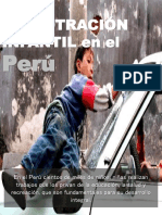 La Explotración Infantil en El Perú