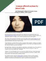 Iran stoning woman offered asylum by Brazil's president Lula