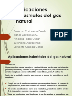 Aplicaciones Industriales Del Gas Natural