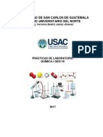 Practicas Laboratorio Quimica i 2017