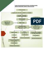 Flujo de Operaciones Para La Transformación de Frutas y Hortalizas Lavado
