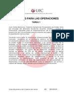 Caso Procesadora Los Andes Trabajo Finanzas
