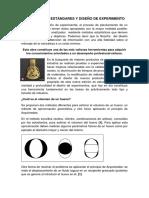 Controles y Estándares y Diseño de Experimento