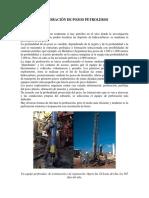 Perforación de Pozos Petroleros
