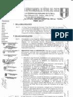 Bases Copa Perú Etapa Departamental 2017