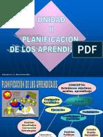 Unidad II. Planificación de Los Aprendizajes