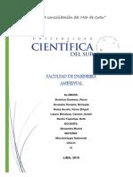 Informe Uno de Microbiologia ... Copia