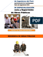 Residencia de Obras Publicas - CIP Lambayeque