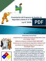 Presentaciondelsistemadegestiondeseguridadysaludeneltrabajo Sgsst 130422184534 Phpapp01