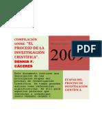 Etapas Proceso Investigacion Cientifica